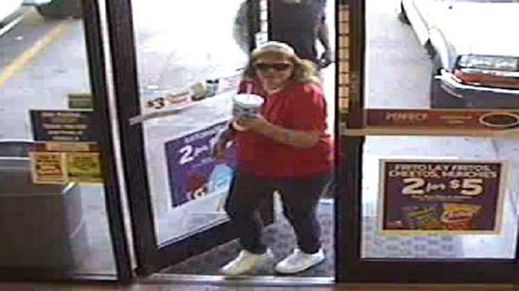 Police in Denver say this woman was involved in a hate crime at a Circle-K convenience store (credit: Denver Police)