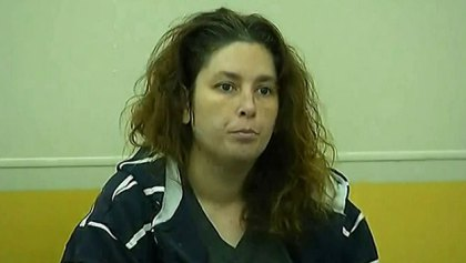Erika Murray in Uxbridge District Court , Sept. 12, 2014. (WBZ-TV)