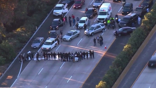 san-diego-5-freeway-protest
